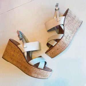 Sam Edelman Destiny Cork Wedge Sandals